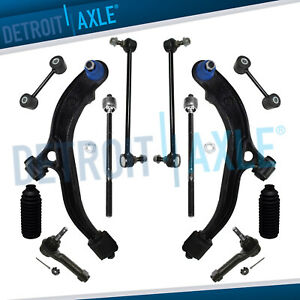 New 12pc Front And Rear Suspension Kit For Grand Caravan Town Country Voyager