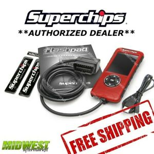 Superchips Flashpaq F5 Performance Programmer For 2011 13 Ford F 250 F 350 6 2l
