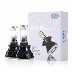 G5 9006 hb4 80w 8000lm Led Car Headlight Conversion Kit Pure White Waterproof