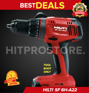 Hilti Sf 6h a22 Cordless Hammer Drill Driver Bare Tool New Model Fast Ship