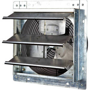 Iliving 12 Variable Speed Shutter Exhaust Fan Wall mounted