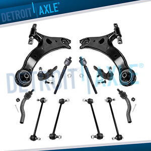 Front Lower Control Arm Sway Bar Kit For 2007 2008 2009 2010 2011 Toyota Camry