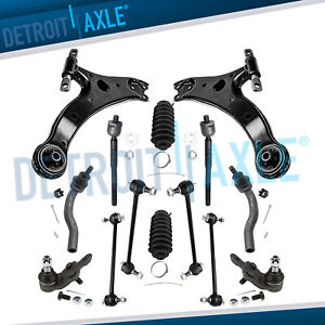 Brand New 14pc Complete Front Lower Control Arm Suspension Kit For 2007 11 Camry