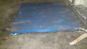 5 000 Lb Floor Scale Indiana Scale Company Model I 1144 5k With Indicator