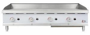 Countertop Gas Griddle 48 Inch Restaurant Kitchen Commercial Flat Top Gri