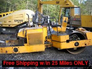 Ingersoll Rand Da 48 Double Drum Articulated Roller Compactor Used Parts