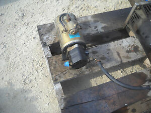 Emergency Electrical Auxiliary Power Unit Mk81505 From Terex Tb110 100 Manlift