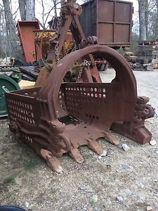 Hendrix Dragline Crane Pond Dredge Bucket Free Ship W 25 Miles Only
