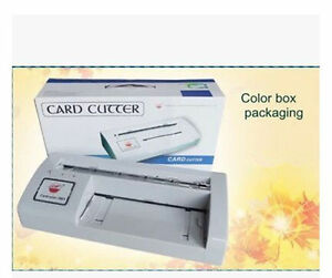 New 300b Automatic Name Card Slitter Cutter business Card Cutting Machine Y