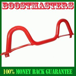 For 1990 2005 Mazda Miata Red Sport Chassis Stabilized Rear Dual Hoop Roll Bar
