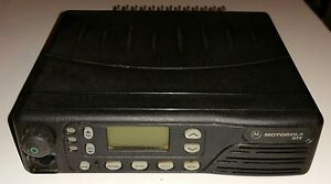 Motorola Gtx Model M11ugd6cb1an Trunking Radio