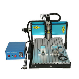 Efl 110v 1500w 3 Axis Cnc6040 Router Engraving Drilling Milling Machine Usb Port