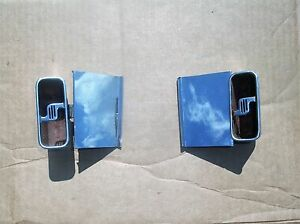 1966 Chrysler Imperial Ash Trays And Covers Lebaron Crown Coupe Oem