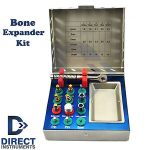 Dental Bone Expander Kit Sinus Lift Drill Compression Implant Oral Surgery Tools
