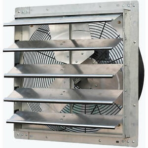 Iliving 20 Variable Speed Shutter Exhaust Fan Wall mounted