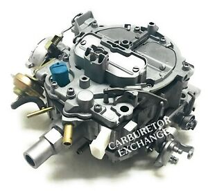 1981 1986 Oldsmobile Buick Remanufactured Rochester Quadrajet Carburetor V8