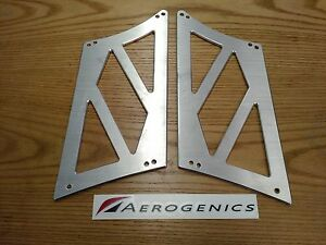 275mm Aerogenics Stands For Voltex Gt Wings Made In The Usa Raw Aluminum