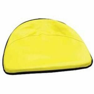 John Deere Tractor 19 Yellow Pan Seat Cover Cushion