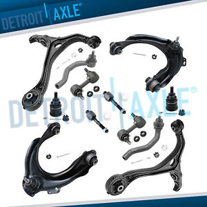 Control Arm For 2003 2007 Honda Accord Acura Tsx Upper Lower W Tierod End 2 4l