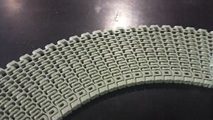 Habasit Kvp Is610 Gray Acetal 6 Wide X 120 Radius 1 Pitch 120 Rows Plastic