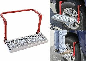 Adjustable Tire Service Step 300lb Weight Limit Foldable New Free Shipping Usa