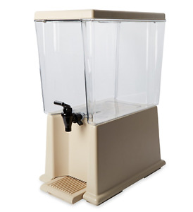 Large Commercial Grade Clear Counter Cold Beverage Drink Dispenser 5 Gallon