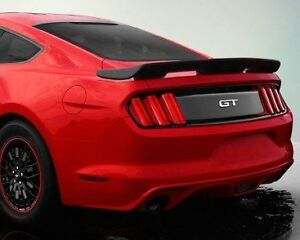 Unpainted Cervini Inspired 4 Post Spoiler For 2015 2020 Ford Mustang Coupe