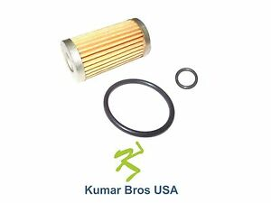 New Ford New Holland Fuel Filter With O ring 1110 1210 1310 1510 1710 1215 1715