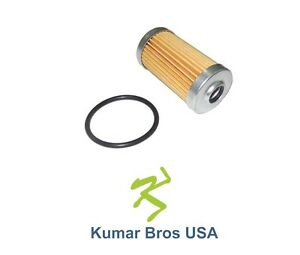 New Element Fuel Filter With O ring Fits John Deere 415 425 445 455 650 670 750