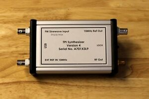 Frequency Generator 35 Mhz To 4400 Mhz Tpi Synthesizer Version 4 Calibrated