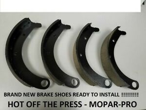 1949 1950 Dodge Truck Brand New Front Shoes Mopar Half Ton 1 2 Ton Truck Bs97