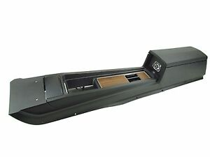 New 1969 Mustang Console Complete Automatic Transmission Deluxe Woodgrain Acp