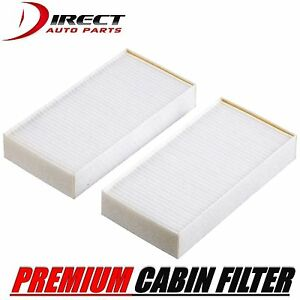 2pc Cabin Air Filter Set For Infiniti Fits Qx56 2004 2010