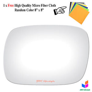New Fit 1997 2001 Jeep Cherokee Only Driver Side Left Lh Mirror Glass 2804