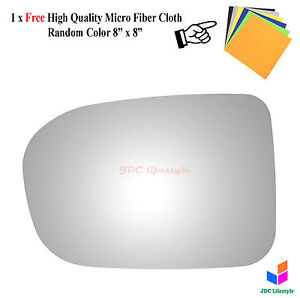 New Fit 2014 2015 Honda Civic Driver Side For Power Non Heated Mirror Glass 4538