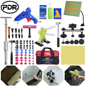 78 Paintless Dent Removal Puller Lifter Pdr Tools T Bar Hammer Repair Tap Down
