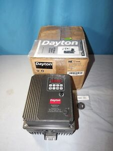 Dayton 13e648 Vfd Variable Frequency Drive 3hp Motor Speed Control new
