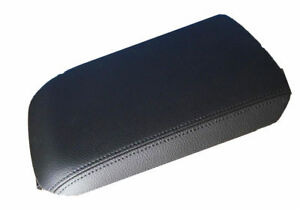 Synthetic Leather Black Center Console Lid Armrest Cover Fits 05 09 Ford Mustang