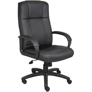 Boss Office Products Executive High back Office Chair Black
