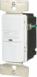 Eaton Os310u w k Motion activated Occupancy Sensor Wall Switch White