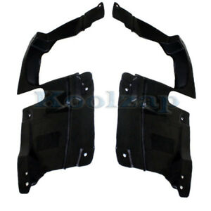 06 12 Fusion Front Engine Splash Shield Under Cover Left Right Side Set Pair