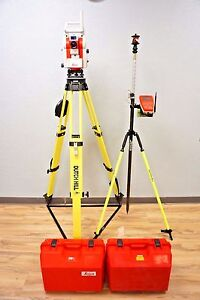 Leica Powertracker X Machine Control Robotic Total Station 3 Sec Icon