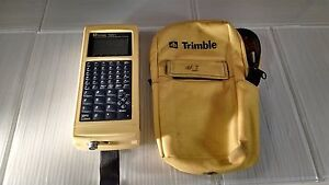 Trimble Tdc1 Mod 3300 Data Collector Yellow Survey Surveying Vg W case Symbol