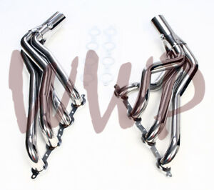 Stainless Long Tube Performance Exhaust Header 07 13 Chevy Gmc 1500 Pickup Truck