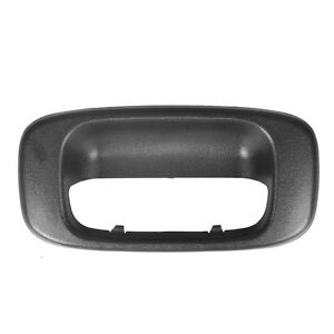 Rear Back Latch Tail Gate Tailgate Handle Bezel Chevy Silverado Gmc Sierra 99 06