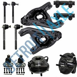 New 12pc Complete Front Suspension Kit Chevy Blazer Gmc Jimmy 5 Lug W Abs 2wd