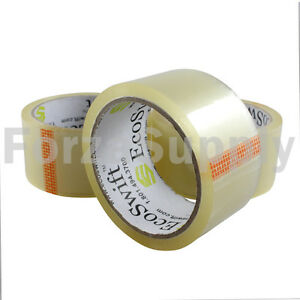 2 Ecoswift Clear Packing Tape For Packaging Carton Box Moving Shipping Tape Gun