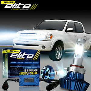 For 1999 2006 Toyota Tundra G7 Elite Led Headlight Bulb Conversion Kit White