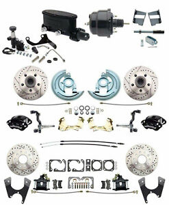 Four Wheel Disc Brake Conversion Wilwood Package For 1964 72 A Body Chevelle