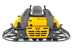 Wacker Neuson Crt60 74l t4f Ride on Concrete Power Trowel 10 Diesel Powerful